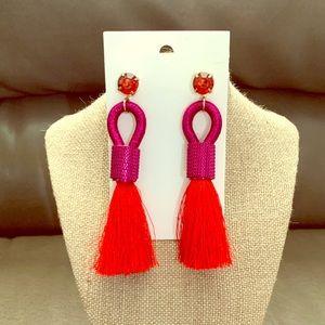 H&M Statement Tassel Earrings
